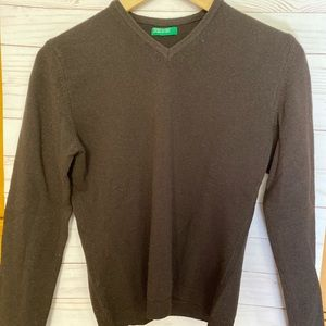 Benetton Wool Pullover Sweater - Made in Italy